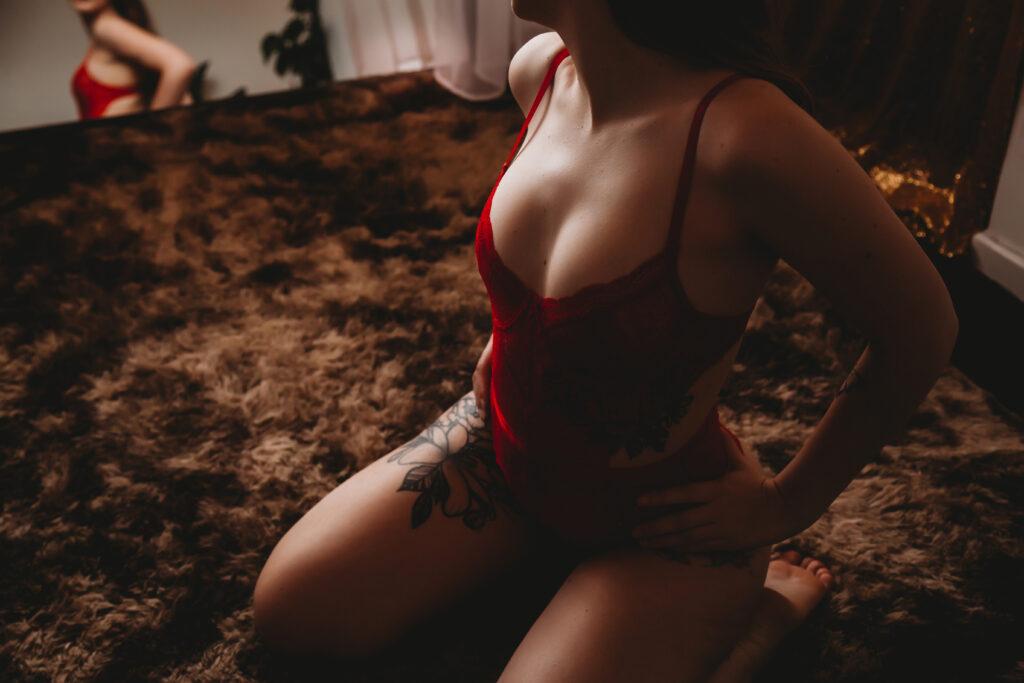 empowering boudoir photography